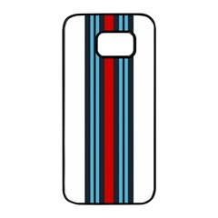 Martini White No Logo Samsung Galaxy S7 Edge Black Seamless Case by PocketRacers