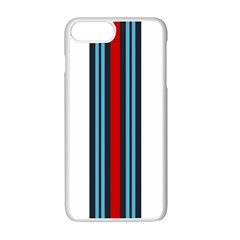 Martini White No Logo Apple Iphone 7 Plus White Seamless Case by PocketRacers