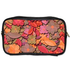 Beautiful Floral Design Toiletries Bags by Valentinaart