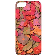 Beautiful Floral Design Apple Iphone 5 Classic Hardshell Case