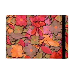 Beautiful Floral Design Apple Ipad Mini Flip Case