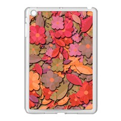 Beautiful Floral Design Apple Ipad Mini Case (white) by Valentinaart