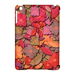 Beautiful Floral Design Apple Ipad Mini Hardshell Case (compatible With Smart Cover) by Valentinaart