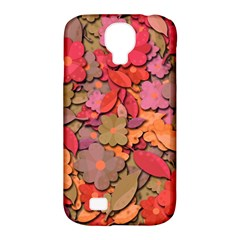 Beautiful Floral Design Samsung Galaxy S4 Classic Hardshell Case (pc+silicone) by Valentinaart