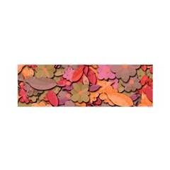 Beautiful Floral Design Satin Scarf (oblong) by Valentinaart
