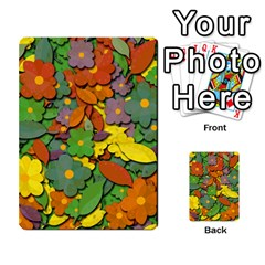 Decorative Flowers Multi Purpose Cards (rectangle)  by Valentinaart