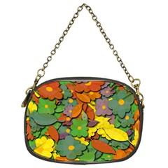 Decorative Flowers Chain Purses (one Side)  by Valentinaart