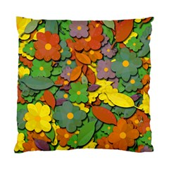 Decorative Flowers Standard Cushion Case (two Sides) by Valentinaart