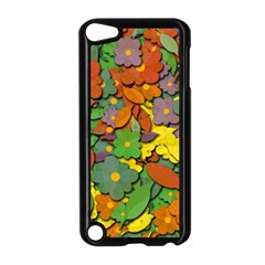 Decorative Flowers Apple Ipod Touch 5 Case (black) by Valentinaart