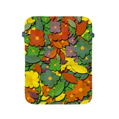 Decorative Flowers Apple Ipad 2/3/4 Protective Soft Cases by Valentinaart