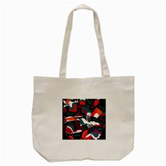 Fly Away  Tote Bag (cream) by Valentinaart
