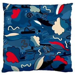 Ocean Large Cushion Case (two Sides)