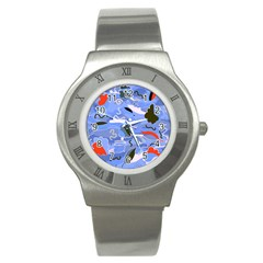Sea Stainless Steel Watch by Valentinaart