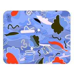 Sea Double Sided Flano Blanket (large)  by Valentinaart