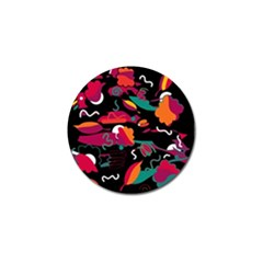 Colorful Abstract Art  Golf Ball Marker by Valentinaart