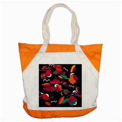 Colorful Abstract Art  Accent Tote Bag by Valentinaart