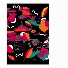 Colorful Abstract Art  Small Garden Flag (two Sides)