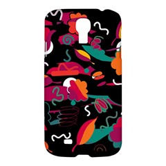 Colorful Abstract Art  Samsung Galaxy S4 I9500/i9505 Hardshell Case by Valentinaart