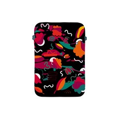 Colorful Abstract Art  Apple Ipad Mini Protective Soft Cases by Valentinaart