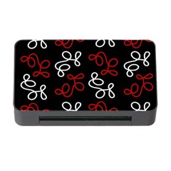 Elegance   Red  Memory Card Reader With Cf by Valentinaart