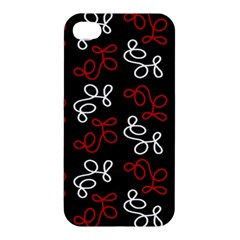 Elegance   Red  Apple Iphone 4/4s Premium Hardshell Case