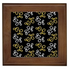 Elegance   Yellow Framed Tiles by Valentinaart