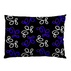 Elegance   Blue Pillow Case (two Sides)