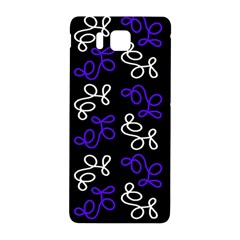 Elegance   Blue Samsung Galaxy Alpha Hardshell Back Case by Valentinaart