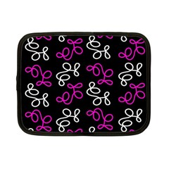 Elegance   Magenta  Netbook Case (small)  by Valentinaart