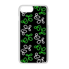 Elegance   Green Apple Iphone 7 Plus White Seamless Case