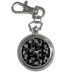 Elegance   Gray Key Chain Watches