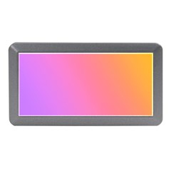 Blank Desk Pink Yellow Purple Memory Card Reader (mini) by AnjaniArt