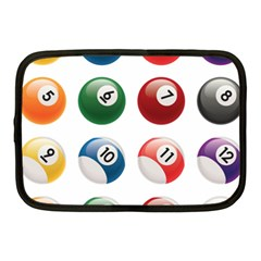 Billiards Netbook Case (medium)  by AnjaniArt