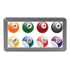 Billiards Memory Card Reader (mini) by AnjaniArt