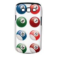 Billiards Samsung Galaxy S Iii Classic Hardshell Case (pc+silicone)