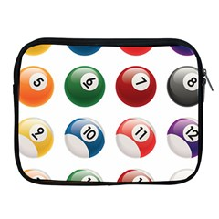 Billiards Apple Ipad 2/3/4 Zipper Cases
