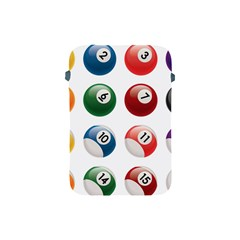 Billiards Apple Ipad Mini Protective Soft Cases by AnjaniArt