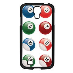 Billiards Samsung Galaxy S4 I9500/ I9505 Case (black) by AnjaniArt