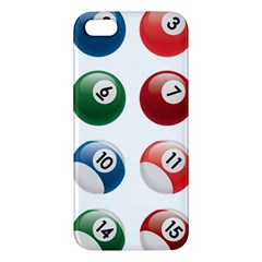 Billiards Iphone 5s/ Se Premium Hardshell Case by AnjaniArt