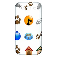 Cat Mouse Dog Samsung Galaxy S3 S Iii Classic Hardshell Back Case