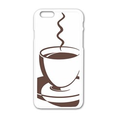 Coffee Beans Apple Iphone 6/6s White Enamel Case