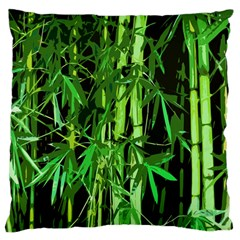 Bamboo Pattern Tree Standard Flano Cushion Case (one Side) by AnjaniArt
