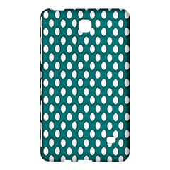 Circular Pattern Blue White Samsung Galaxy Tab 4 (7 ) Hardshell Case  by AnjaniArt