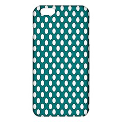 Circular Pattern Blue White Iphone 6 Plus/6s Plus Tpu Case by AnjaniArt