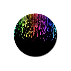 Color Rainbow Magnet 3  (round) by AnjaniArt
