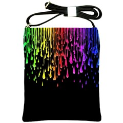Color Rainbow Shoulder Sling Bags