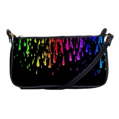 Color Rainbow Shoulder Clutch Bags by AnjaniArt
