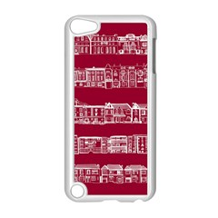 City Building Red Apple Ipod Touch 5 Case (white)