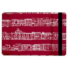 City Building Red Ipad Air Flip