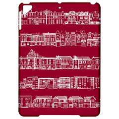 City Building Red Apple Ipad Pro 9 7   Hardshell Case by AnjaniArt